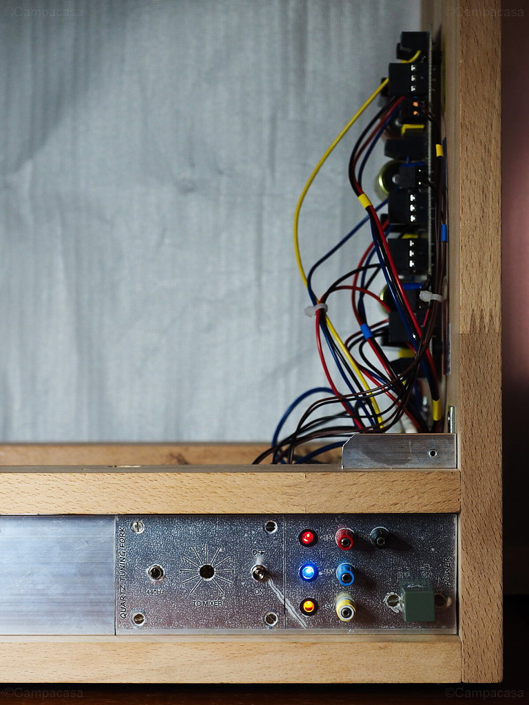 Front Panel of Power Supply