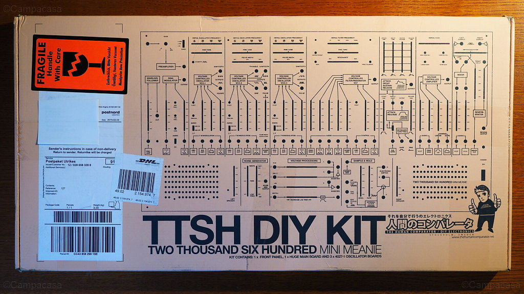 TTSH DIY Kit Delivery