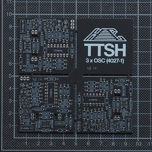TTSH VCO Boards, component side