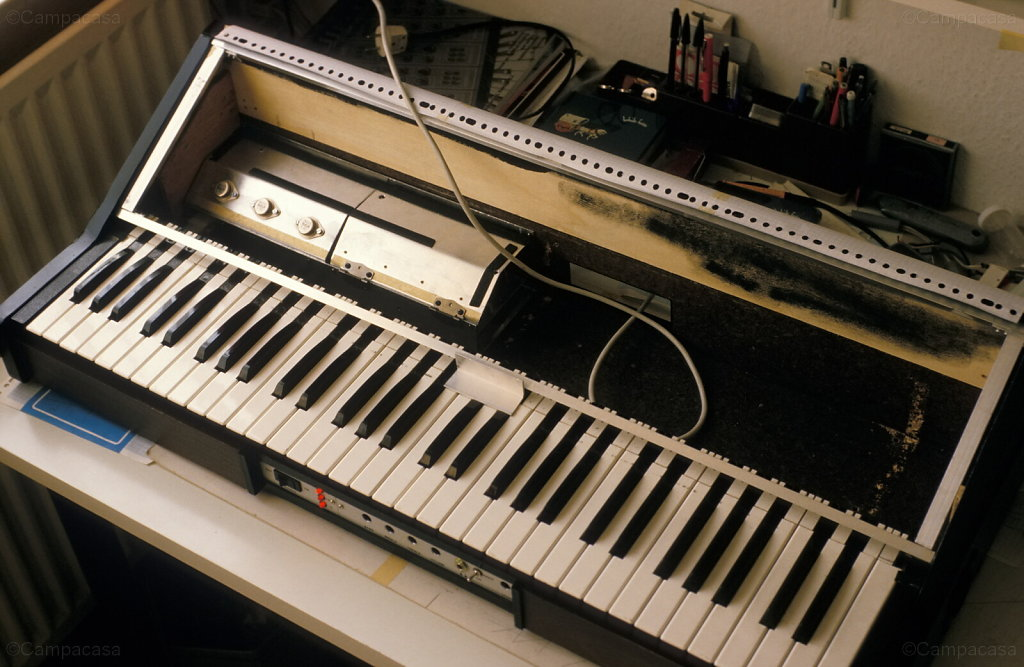 A trial in building a synthesizer