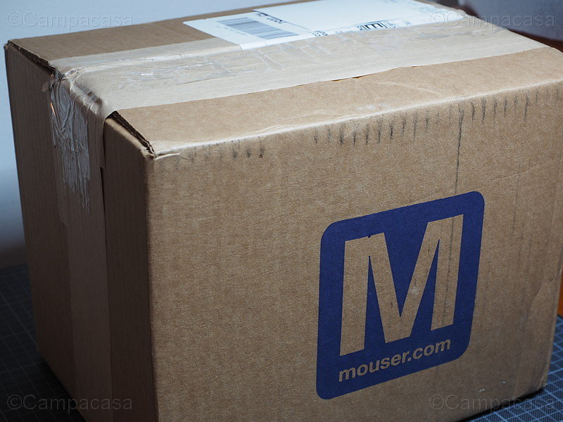 The Electronic Components Delivery from Mouser
