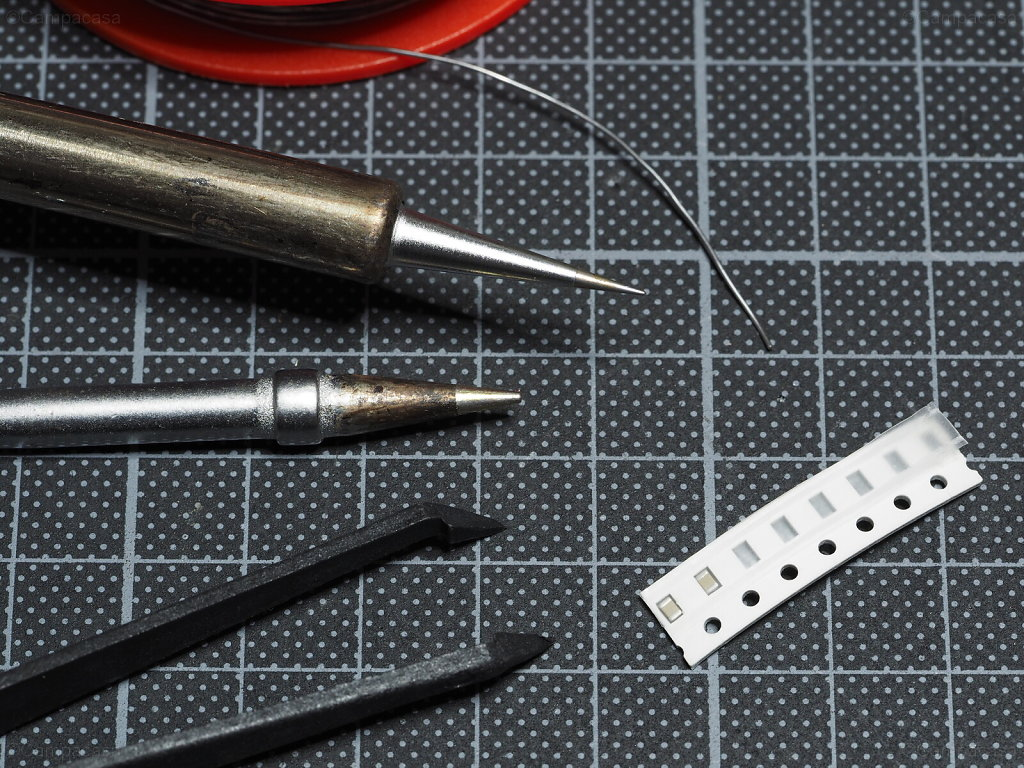 Soldering Tools for the SMD Capacitors