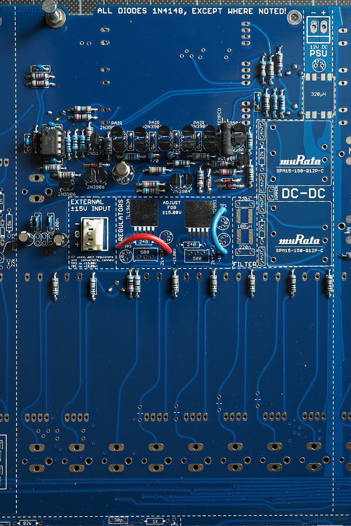 Main Board, VCF Completed