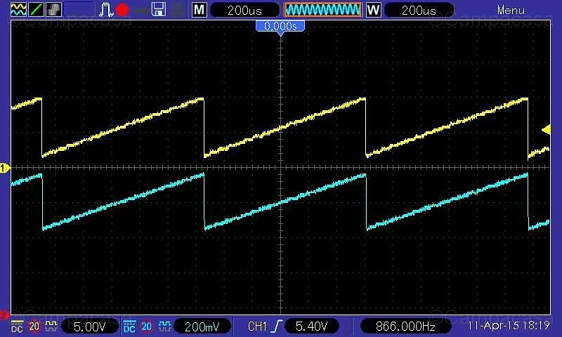 Testing VCO3 Saw Signal and VCF Output