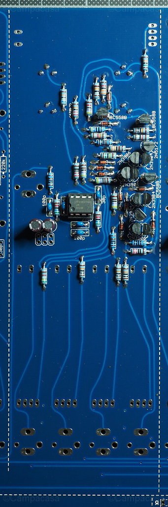 Main Board, VCA Completed