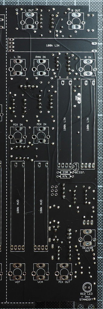 Main Board, Mixer and Reverb Completed