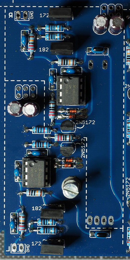 Main Board, Amplifiers Completed
