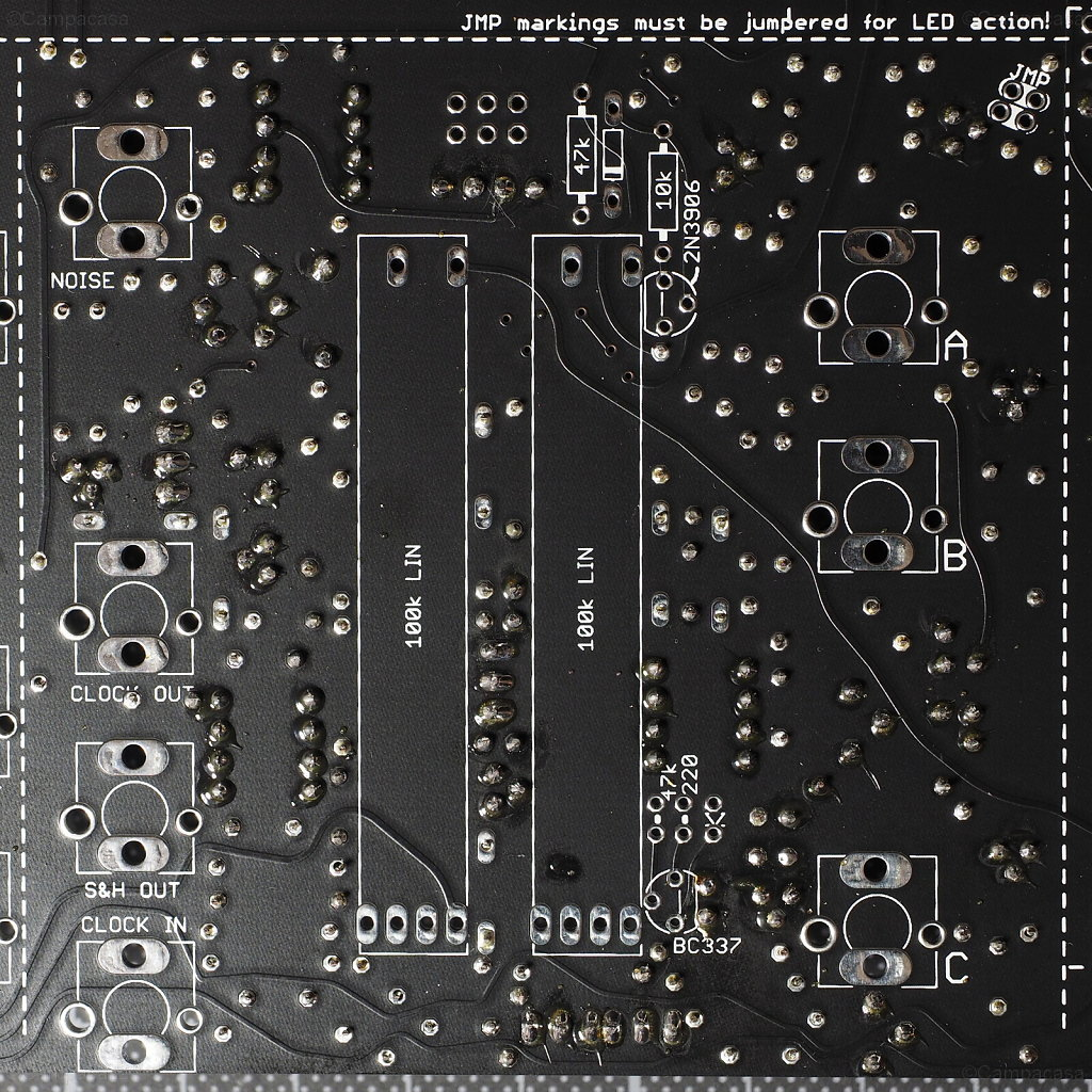 Main Board, Sample&Hold, Internal Clock and Analog Switch Completed