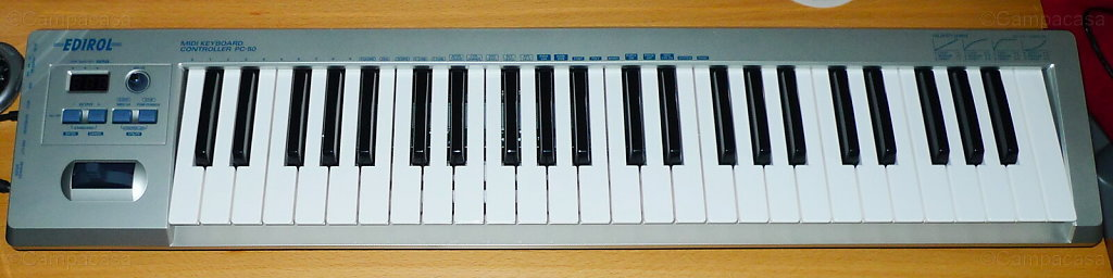 Edirol Midi Keyboard Controller PC-50